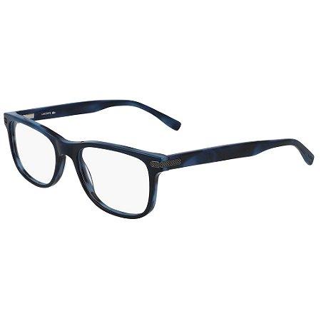 Óculos de Grau Lacoste L2841 424/55 - Azul