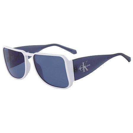 Óculos de Sol Calvin Klein Jeans CKJ18501S 100/58 - Azul
