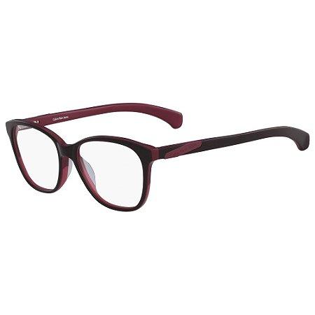 Óculos de Grau Calvin Klein Jeans CKJ990 697/52 - Vermelho