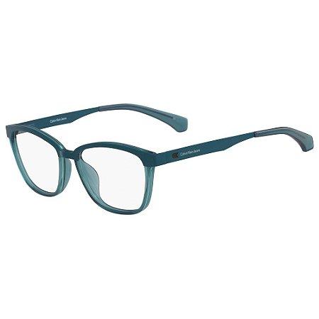 Óculos de Grau Calvin Klein Jeans CKJ502 418/52 - Azul