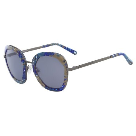 Óculos de Sol Diane Von Furstenberg DVF833S ADELINE 414/50 Azul - Redondo