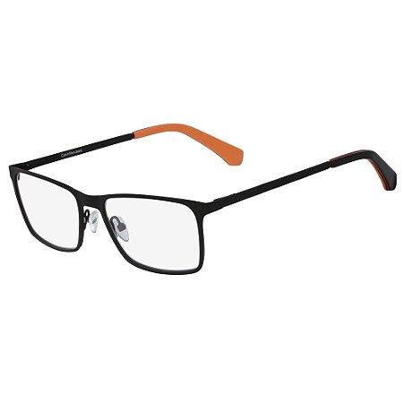 Óculos de Grau Calvin Klein Jeans CKJ158 002/53 - Preto