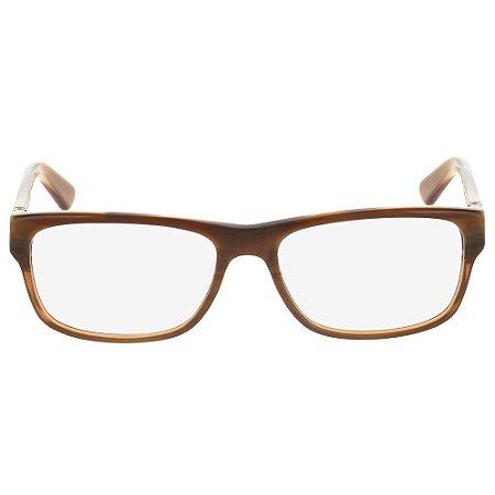 Óculos de Grau Calvin Klein CK8516 205/54 - Marrom