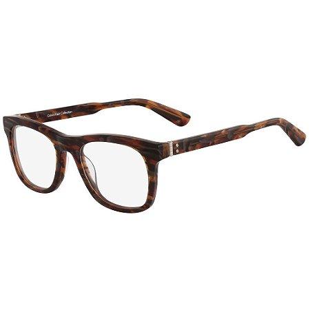 Óculos de Grau Calvin Klein CK7978 205/52 - Marrom