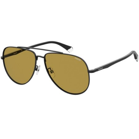 Óculos de Sol Polaroid PLD 2105/G/S/62 Preto - Polarizado