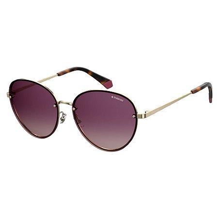 Óculos de Sol Polaroid PLD 4090/S/58 Roxo - Polarizado
