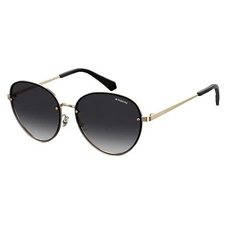 Óculos de Sol Polaroid PLD 4090S - Ouro - Polarizado