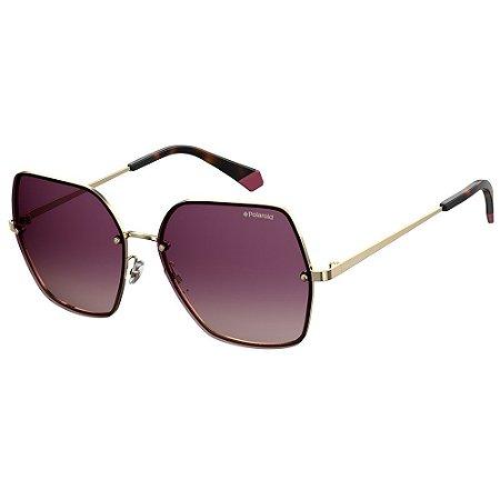 Óculos de Sol Polaroid PLD 4091/S/58 Roxo - Polarizado