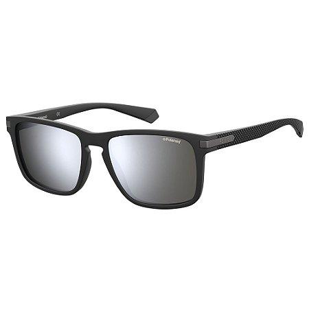 Óculos de Sol Polaroid PLD 2088/S/55 Preto - Polarizado