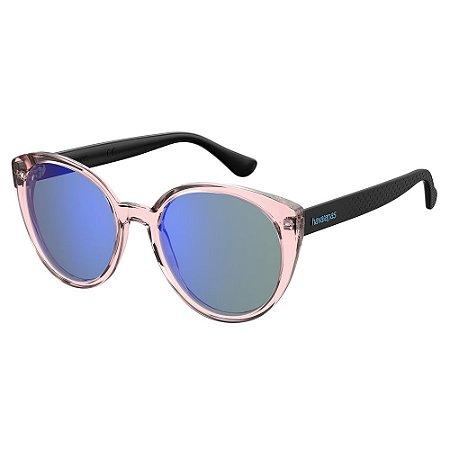 Óculos de Sol Havaianas MILAGRES/54 - Transparente - Rosa