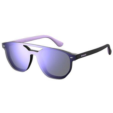 Óculos de Sol Havaianas UBATUBA/CS/51 - Preto - Roxo
