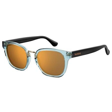 Óculos de Sol Havaianas GUAECA/52 - Transparente - Azul