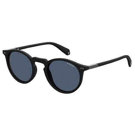 Óculos de Sol Polaroid PLD 2086/S/47 Preto - Polarizado