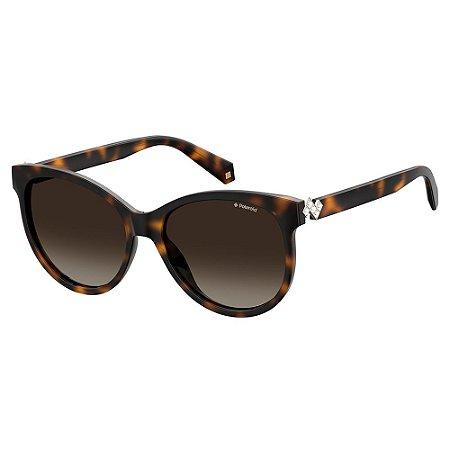 Óculos de Sol Polaroid PLD 4079SX - Marrom - Polaroid