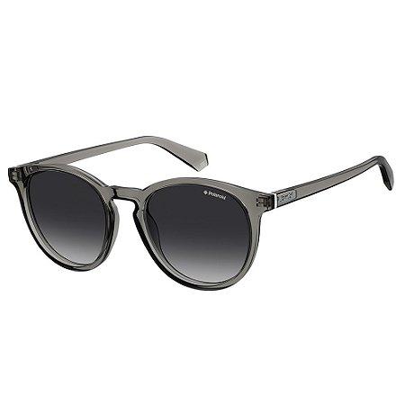 Óculos de Sol Polaroid PLD 6098S - Cinza - Polarizado