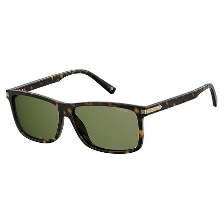 Óculos de Sol Polaroid PLD 2075SX - Marrom - Polarizado