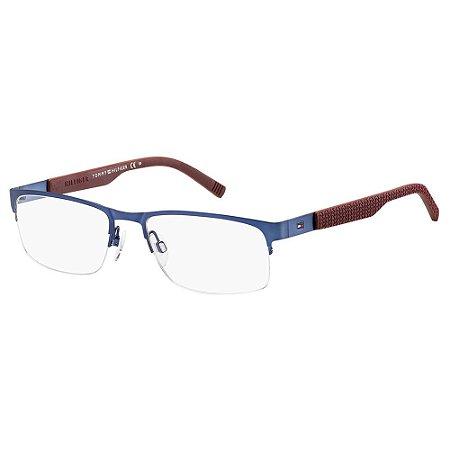 Óculos de Grau Tommy Hilfiger TH 1447 - Azul