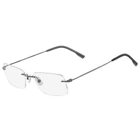 Óculos de Grau Calvin Klein CK7503 098/53 - Cinza - Titanium