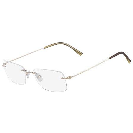 Óculos de Grau Calvin Klein CK7503 041/53 - Ouro - Titanium