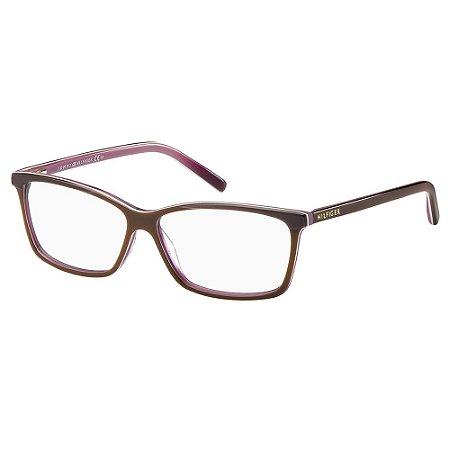 Óculos de Grau Tommy Hilfiger TH 1123/55 - Marrom