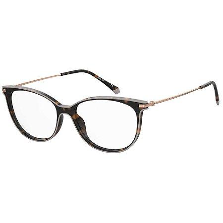 Óculos de Grau Polaroid PLD D415/52 Marrom