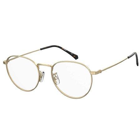Óculos de Grau Polaroid PLD D396/G/53 Dourado - Polarizado