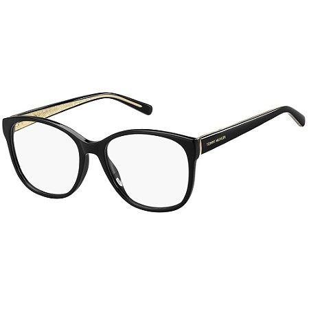 Óculos de Grau Tommy Hilfiger TH 1780/54 - Preto