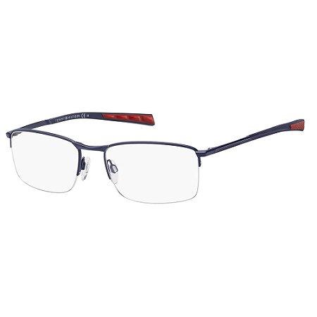 Óculos de Grau Tommy Hilfiger TH 1784/54 - Azul