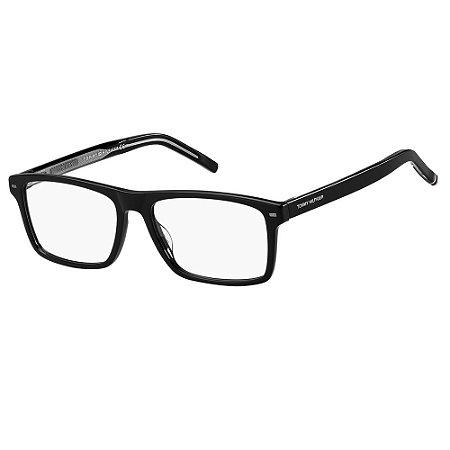 Óculos de Grau Tommy Hilfiger TH 1770/55 - Preto