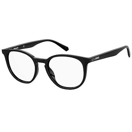 Óculos de Grau Polaroid PLD D381/51 Preto - Polarizado