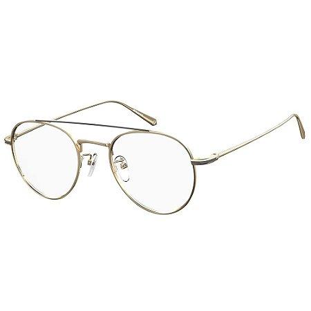 Óculos de Grau Polaroid PLD D383/G/51 Dourado - Polarizado
