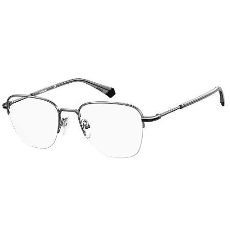 Óculos de Grau Polaroid PLD D386/G/53 Cinza - Polarizado