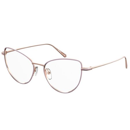 Óculos de Grau Polaroid PLD D382/53 Dourado - Polarizado