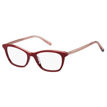 Óculos de Grau Tommy Hilfiger TH 1750 - Vermelho