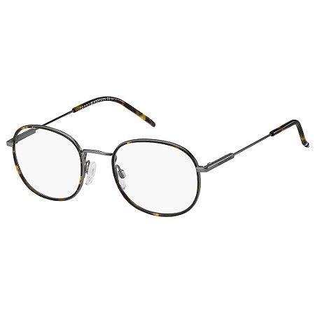 Óculos de Grau Tommy Hilfiger TH 1726 - Marrom