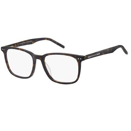 Óculos de Grau Tommy Hilfiger TH 1732/51 - Marrom