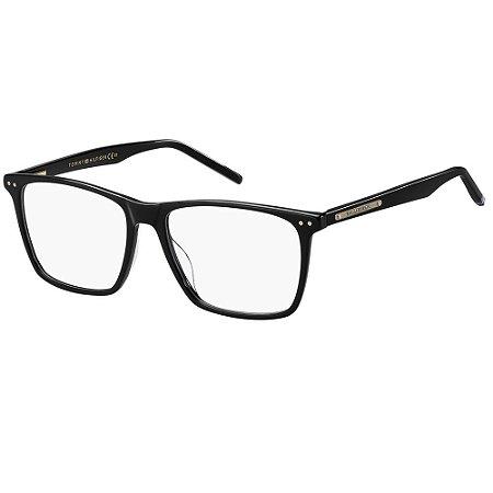 Óculos de Grau Tommy Hilfiger TH 1731/54 - Preto