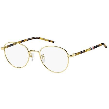 Óculos de Grau Tommy Hilfiger TH 1690/G/52 - Dourado