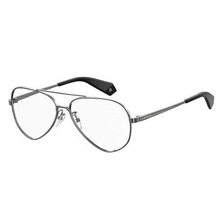 Óculos de Grau Polaroid PLD D358G - Cinza