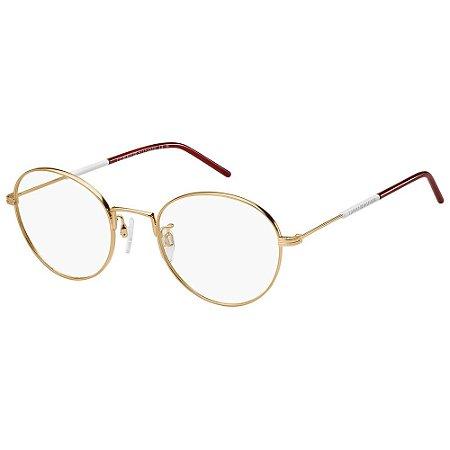 Óculos de Grau Tommy Hilfiger TH 1575/F/52 - Dourado