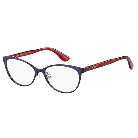 Óculos de Grau Tommy Hilfiger TH 1554 - Azul