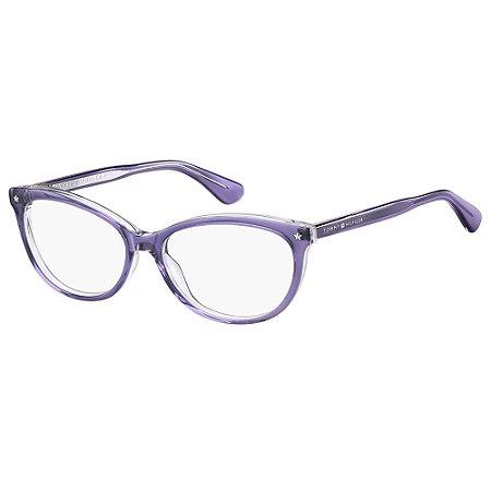 Óculos de Grau Tommy Hilfiger TH 1553 - Roxo