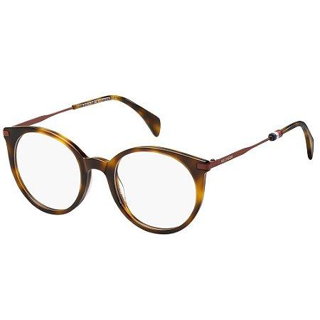 Óculos de Grau Tommy Hilfiger TH 1475/50 - Marrom