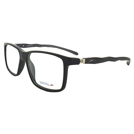 Óculos de Grau Speedo SPK6007I A01 - Preto Fosco