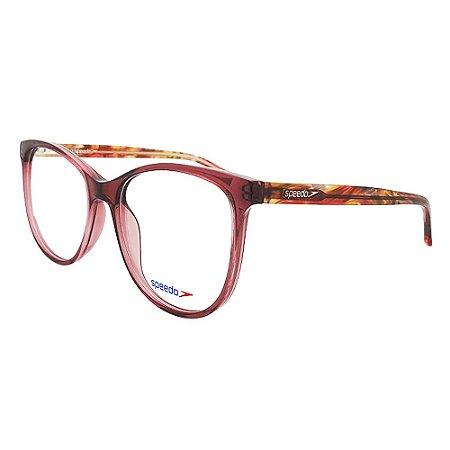 Óculos de Grau Speedo SP6113WI T02 - Vermelho