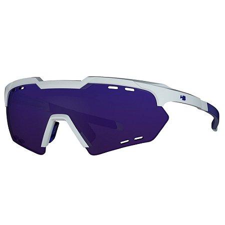 Óculos de Sol HB Shield Compact M - Branco / Azul