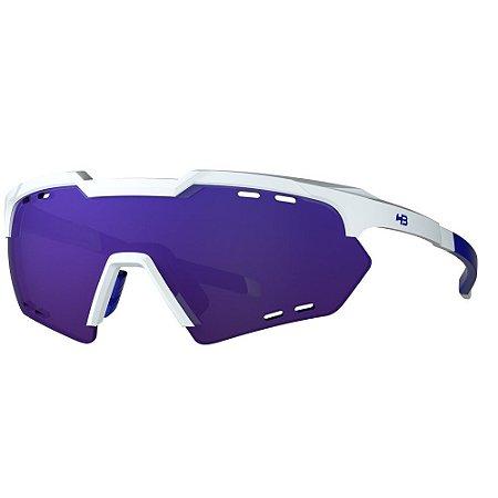 Óculos de Sol HB Shield Compact R - Branco