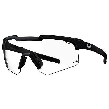 Óculos de Sol HB Shield Evo R - Preto Fosco - Lente Photochromic
