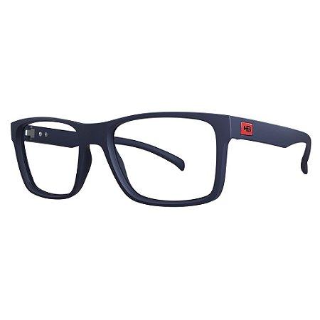 Óculos de Grau HB 0339 - Azul - Clip On Polarizado