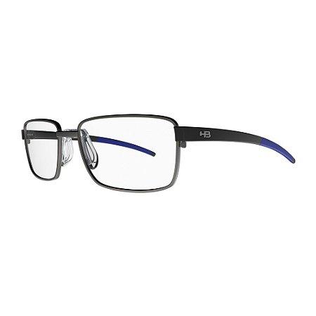 Óculos de Grau HB Duotech 0291 - Cinza /Azul